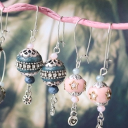 NEW Cheerful Bohemian beads in warm autumn colours