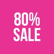 Sale 80% outlet