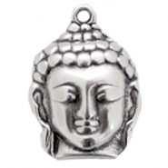Large DQ charms Buddha Antique silver (nickel free)