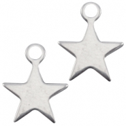 DQ charms star Antique silver (nickel free)