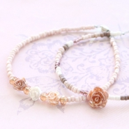 NEW New rose and daisy beads with special details!