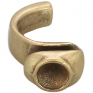 DQ metal ring for SS39 chaton Antique bronze (nickel free)