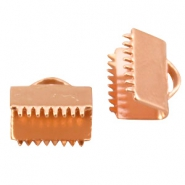 DQ lace clip 10mm Rose gold plated