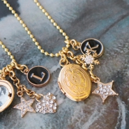 NEW NEW: medallion charms and more!