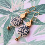 Inspirational Sets Creating earrings with trendy, new shell beads