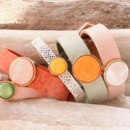 NEW NEW: Cuoio bracelets & cabochons!