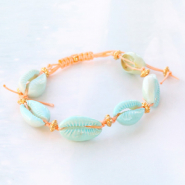 Inspirational Sets Tropical jewellery with cowrie shells
