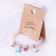 Inspirational Sets Girly jewellery with cheerful metal charms