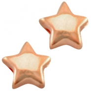 DQ metal star 6mm Rose gold (nickel free)