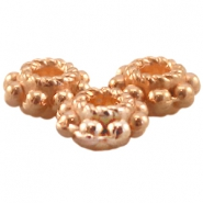 DQ metal tube ring 5.5x2.8mm Rose gold (nickel free)