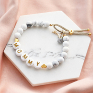 Inspirational Sets Inspiration: mother & daughter jewellery with letter beads