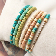 NEW New in the collection: natural coconut beads