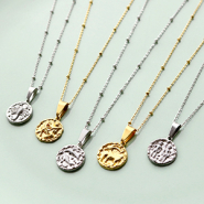 NEW Must-have! New brass TQ horoscope charms