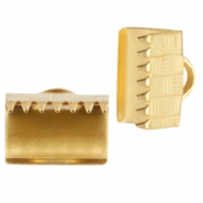 DQ metal laceclip 10mm Gold (nickel free)