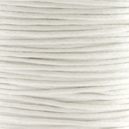 Waxed cord 1.0mm White