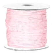 Macramé bead cord Light pink