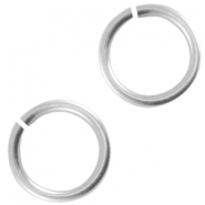 DQ metal jump ring 5.5mm Antique silver (nickel free)