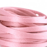 Flat DQ silk cord 5mm Antique pink