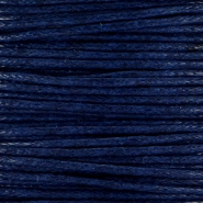 Waxed cord 1.0mm Midnight blue