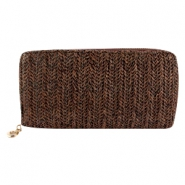 Trendy wallet Brown
