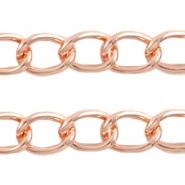 Basic Quality link chain 21x16mm Rose gold