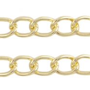 Basic Quality link chain 21x16mm Gold