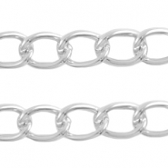 Basic Quality link chain 21x16mm Antique silver