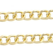 Basic Quality link chain 16x12mm Gold
