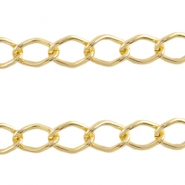 Basic Quality link chain 14x9mm Gold