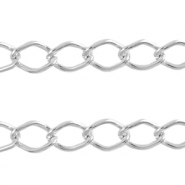 Basic Quality link chain 14x9mm Antique silver