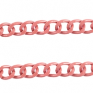 Basic Quality link chain 12x9mm Dark antique pink