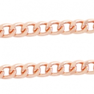 Basic Quality link chain 12x9mm Rose gold