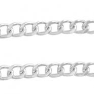 Basic Quality link chain 12x9mm Antique silver