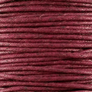 Waxed cord 1.5mm Bordeaux brown