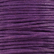 Waxed cord 1.5mm Purple