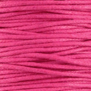 Waxed cord 1.5mm Hot Pink