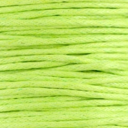 Waxed cord 1.5mm Fern green