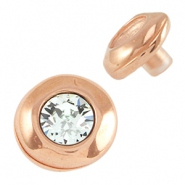 DQ metal pin / setting for SS39 chaton Rose gold (nickel free)