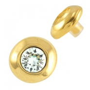 DQ metal pin / setting for SS39 chaton Gold (nickel free)