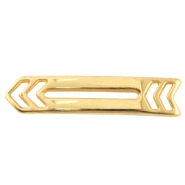 DQ metal connector arrow Gold (nickel free)