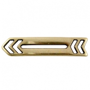 DQ metal connector arrow Antique bronze (nickel free)