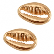 DQ metal shell connector Rose gold (nickel free)