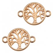 DQ metal connector tree Rose gold (nickel free)