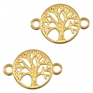 DQ metal connector tree Gold (nickel free)