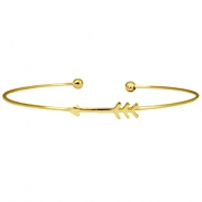 Metal bracelet arrow Gold