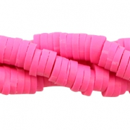 Katsuki beads 4mm Fuchsia