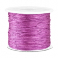Macramé bead cord 0.7mm Violet purple