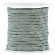 Trendy 4mm flat surfcord Light green
