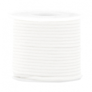 Trendy 2mm round surfcord White