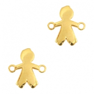 DQ metal connector boy Gold (nickel free)